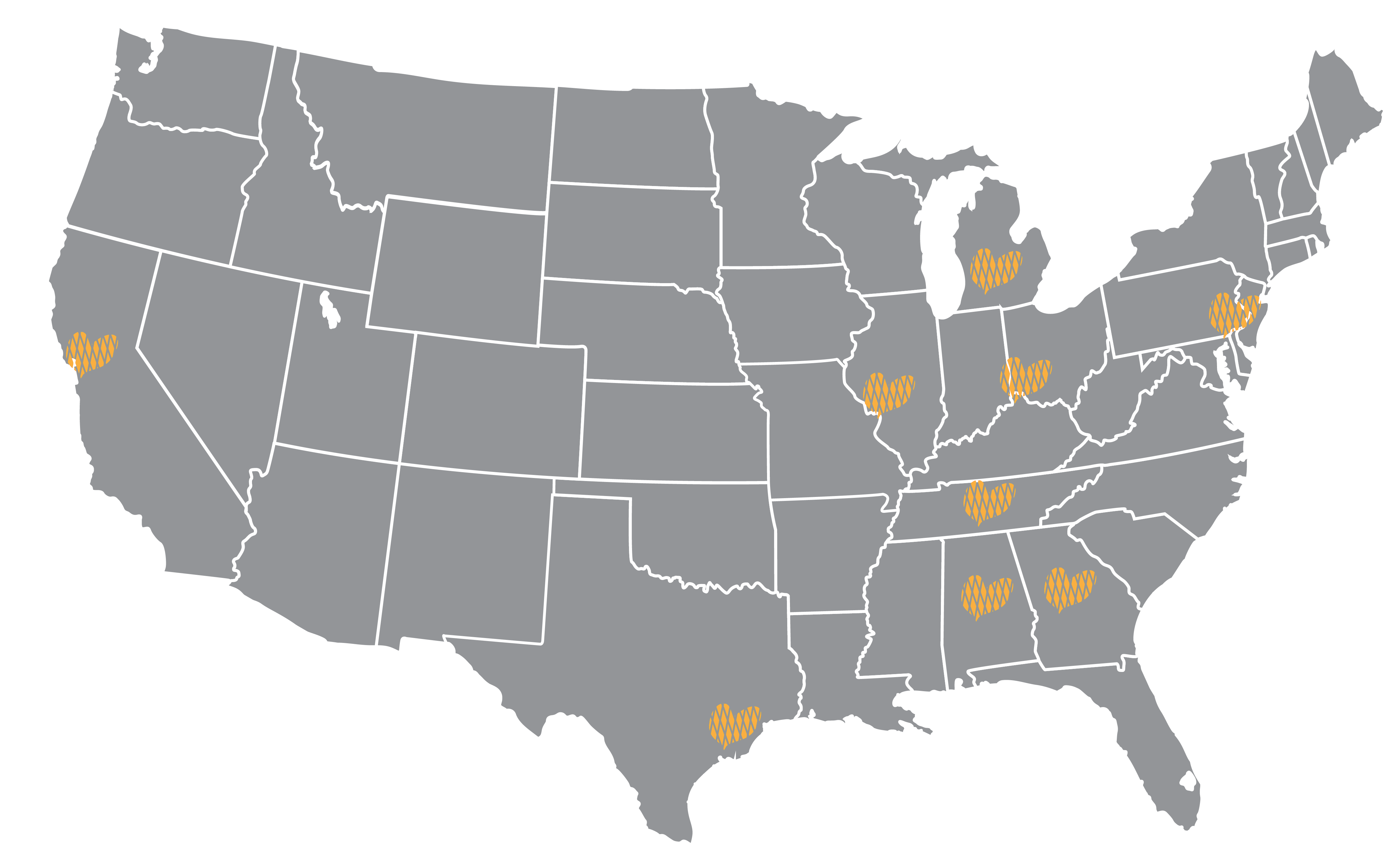 CCHC Map